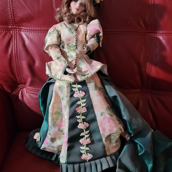 Porcelain Doll 18 inches in height
